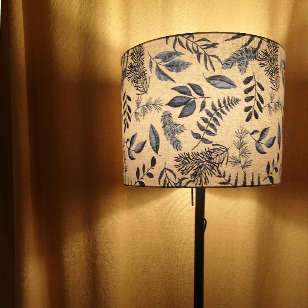 širm na stojací lampu