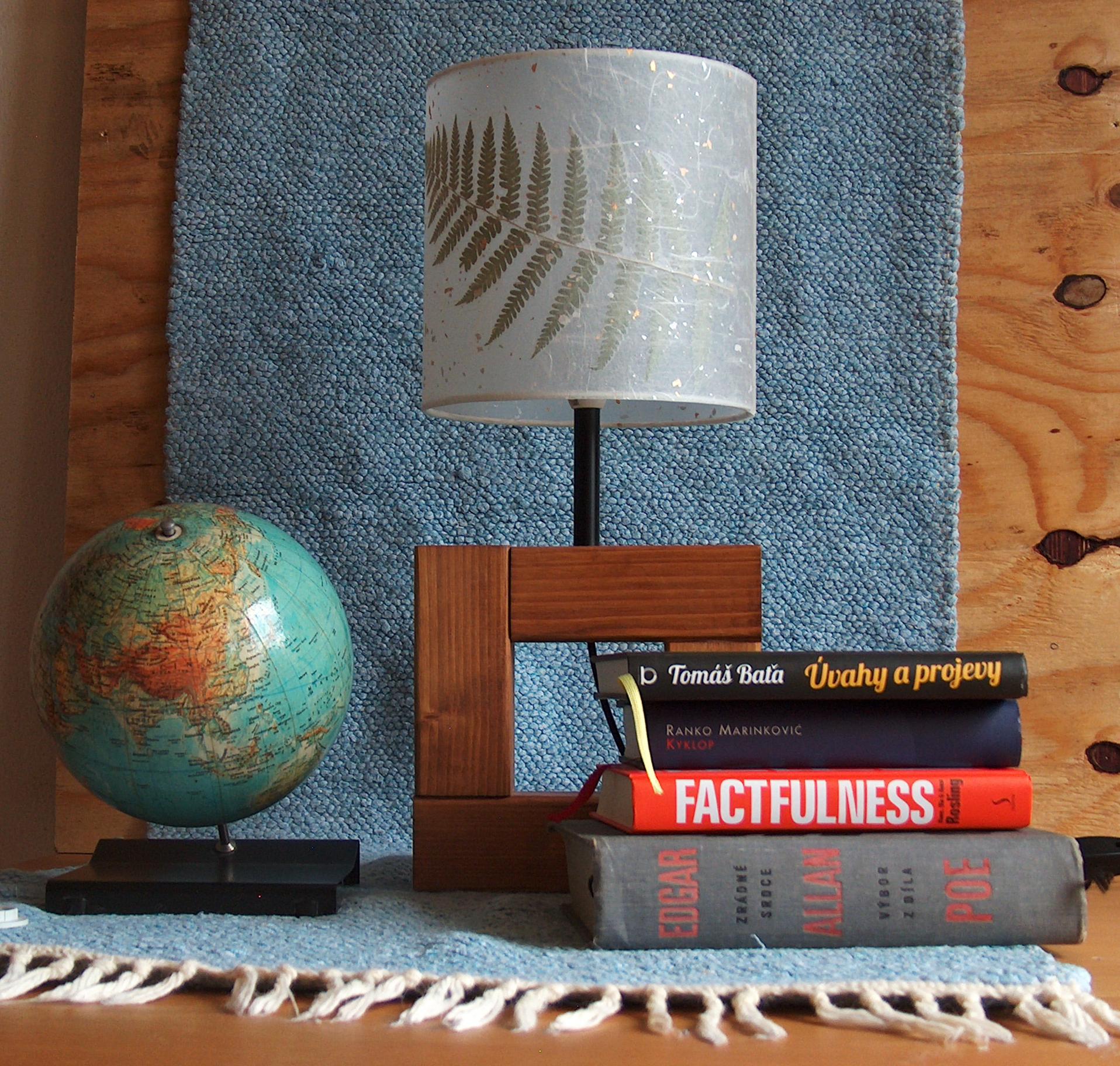 malé stínidlo na lampu