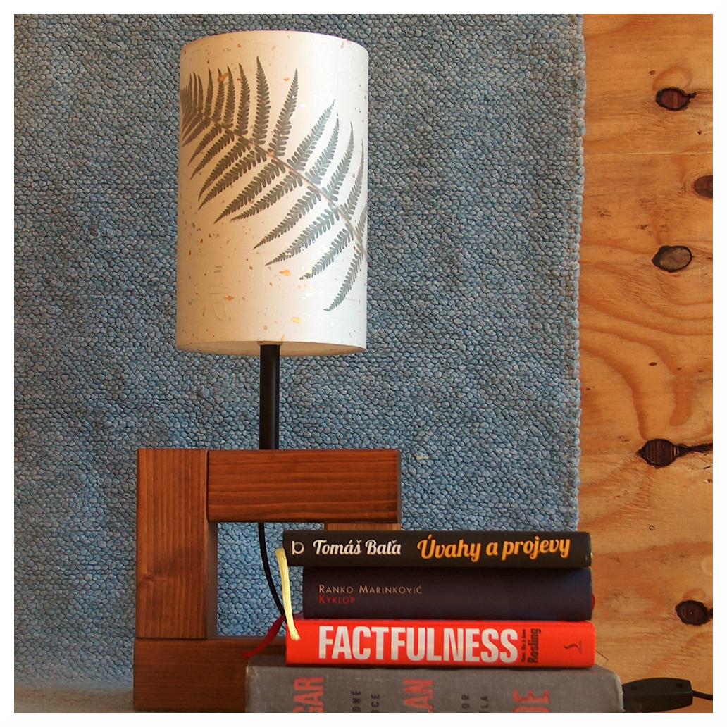 stínítko na lampičku